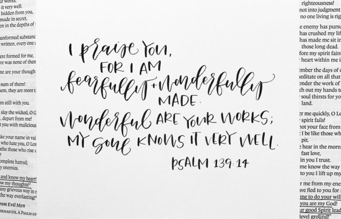 Psalm 139:13